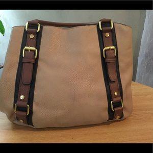 Handbags - Tan & brown purse. VGUC  ***2 for $15**+ extra 10%
